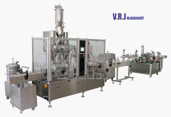 VRJ-80Powder Filling and Capping Production Line