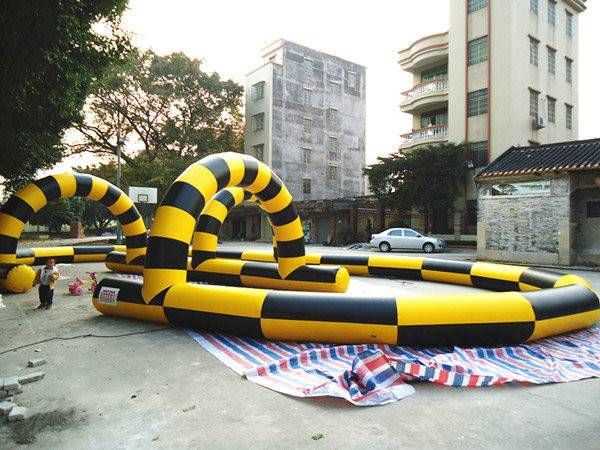 inflatable go karts