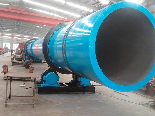 coal and sawdust rotary dryer