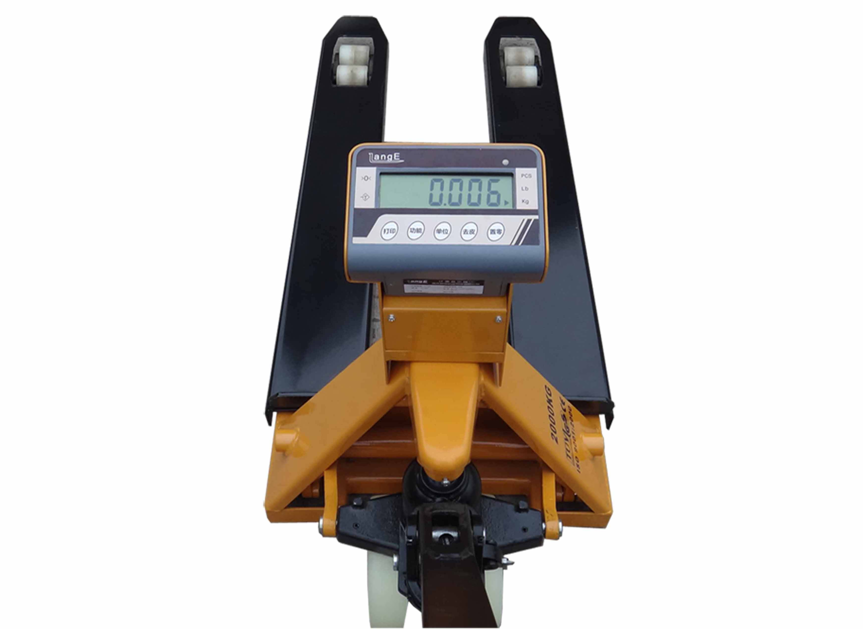 2 Ton Walk Behind Pallet Stacker Electric Forklift Price 1: Pallet Truck Scales For Sale