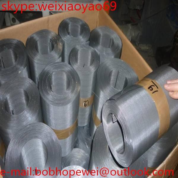 Hotstainless steel plain/twill/ dutch weave wire mesh