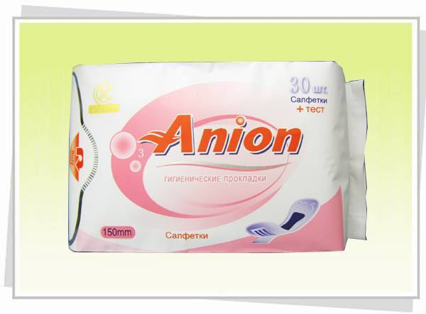 Anion/Negative Ion Panty liners