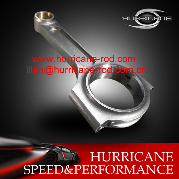Hurricane Conrods : Holden / Nissan RB30 Drag Pro I beam Con rods with 7/16 Bolts