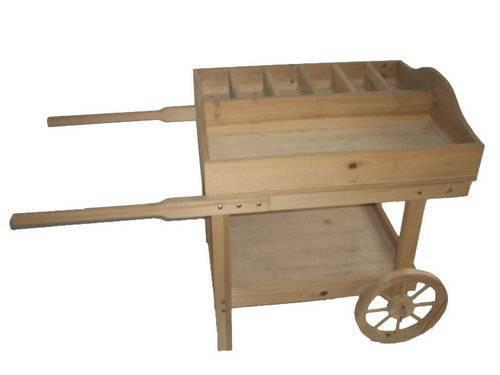 Wood Wheel Barrows, Wheel Wagons