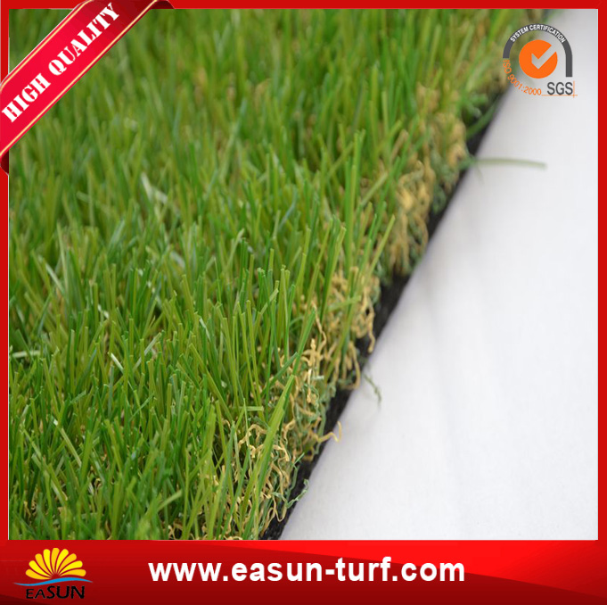 natural looking green fake turf outdoor plastic artificial grass carpet-AL