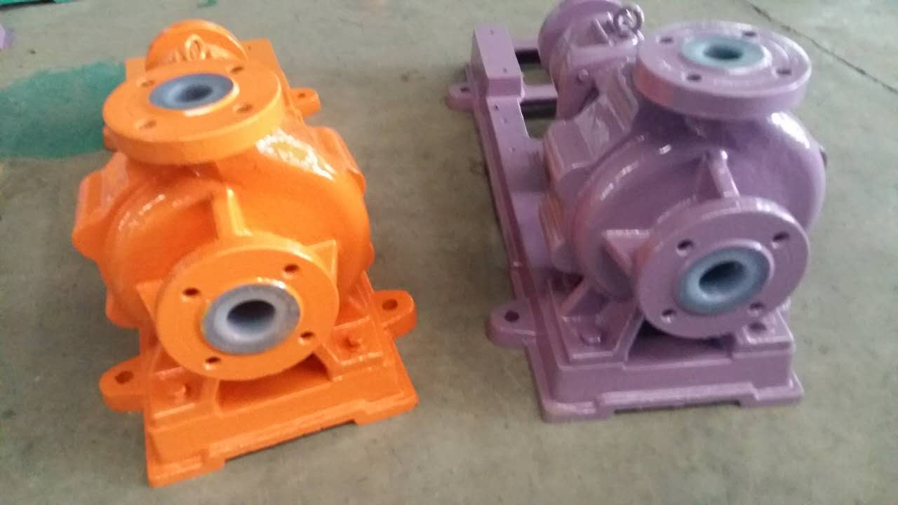 Sell IHF Series Teflon Lining Chemical Process centrifugal pump