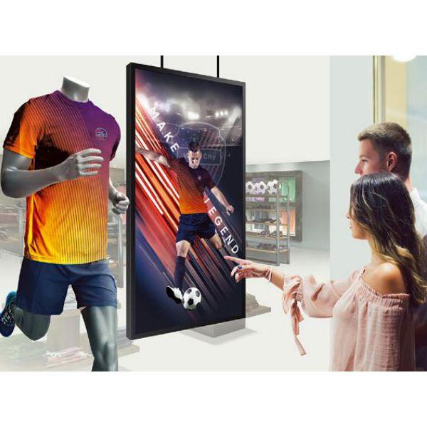 "55"" High brightness slim design commercial lcd displays"