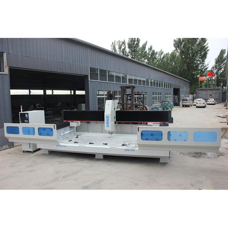 Automatic Quartz Processing CenterCXSC-3015stone cnc router machine