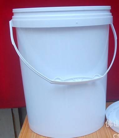 10L plastic pail with lid, chemical drum