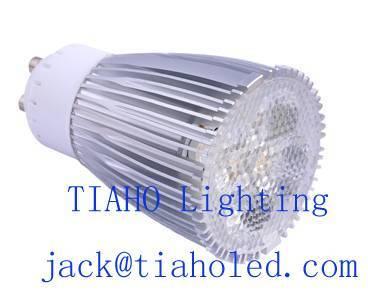 led spotlight bulb gu10 mr16 e27 b22 led dimmable 6w