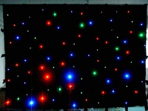 stage led star curtain BS-9012