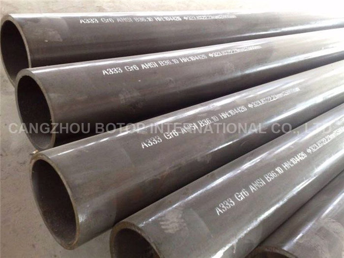 ASTM A333 Gr.6 Seamless Steel Pipe