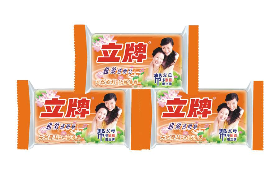 Lipai Transparent soap, ultra-efficiency remove stains, OEM orders are accepted, 218g weight