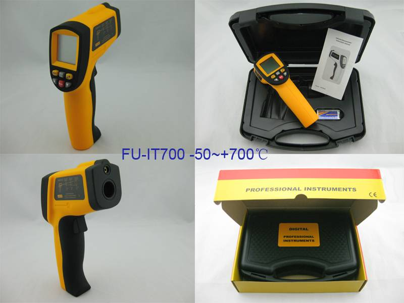 Laser Non-Contact Infrared Industrial Thermometer IT700
