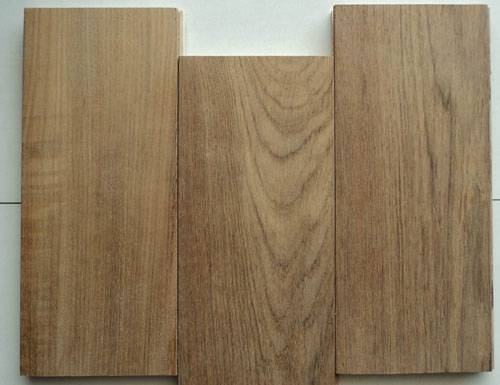 Unfinished Teak engineered wood flooring