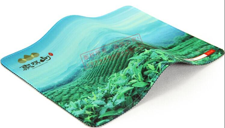 Advertising customized sublimation rubber mouse pad