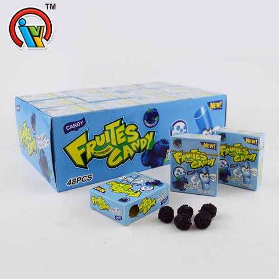 Good taste waxberry shape soft gummy jelly candy