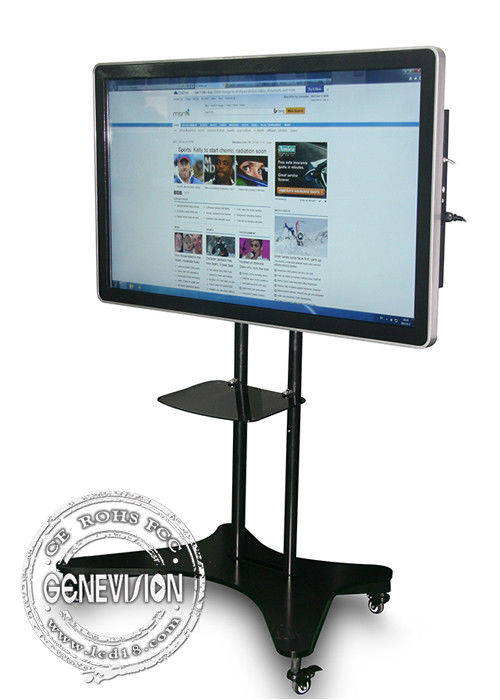 42 Inch 4K Industrial LCD Displays HDMI VGA USB Input LAN Wifi Network Multi touch