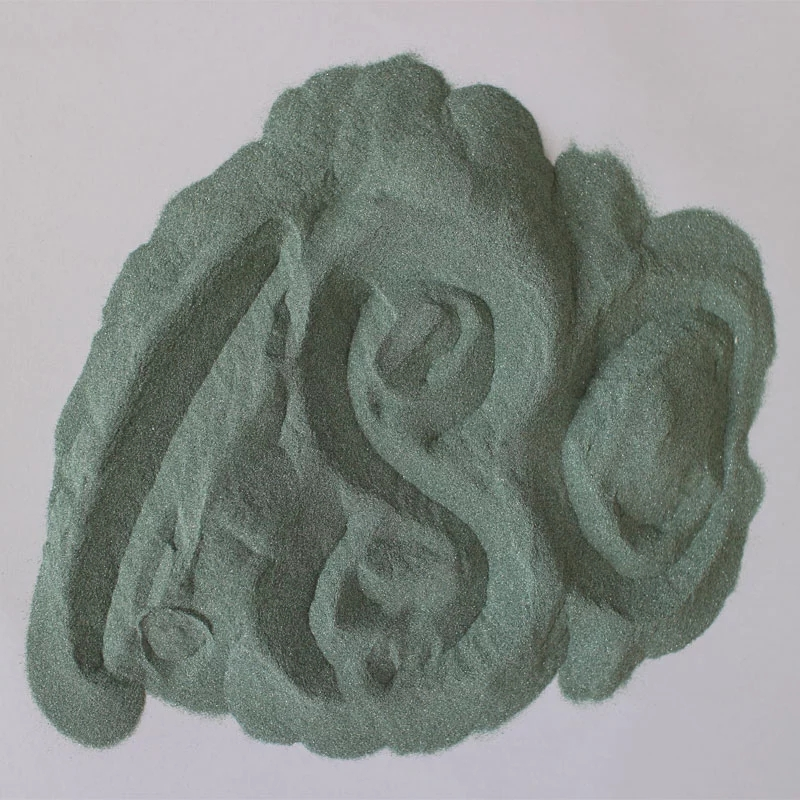 F150 Macro grit Silicon Carbide Green of with high density and good color