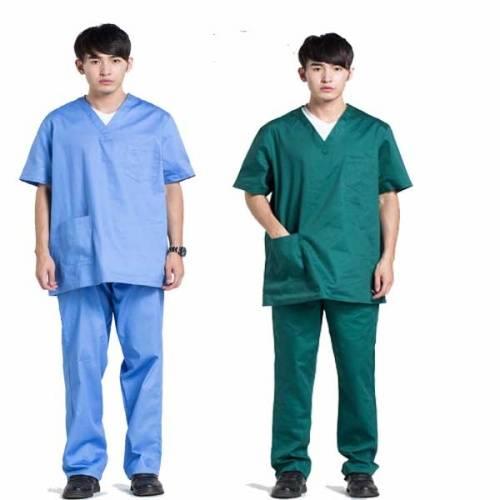 polyester/cotton scrubs