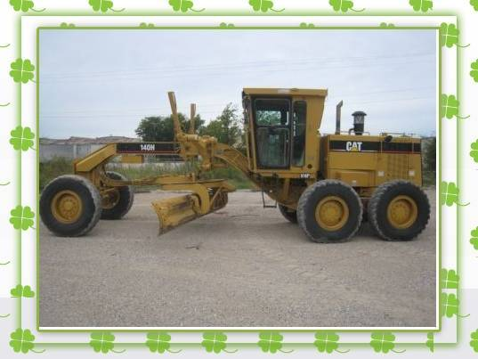 140H caterpillar used motor grader