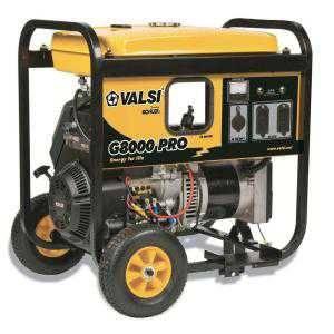 Valsi 8,000-Watt Kohler Command Gasoline Powered Portable Electric Start Single Phase Contractor Gen
