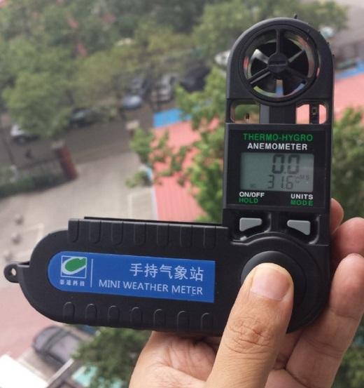 QT-WM Series handheld Weather Station