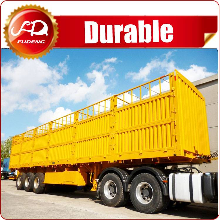 Factory Widely Used strong Cargo Box utility Trailers For Sale South Africa