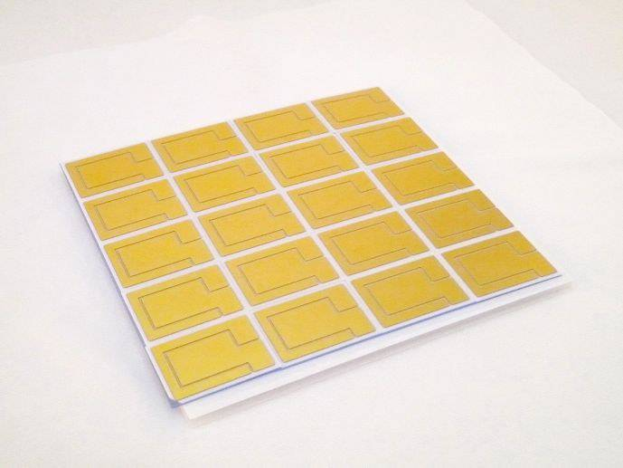 HCPV solar thermal ceramic substrate (circuit board)