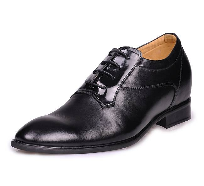 height increasing elevator wedding shoes for men grow taller 7CM