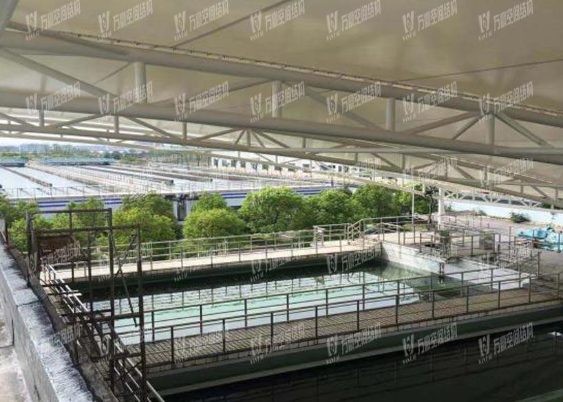 Cixi Waterworks Sewage Tank Membrane Structure Project