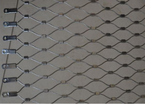 Stainless Steel 719 x-tend Cable Rope Mesh For Zoo Mesh