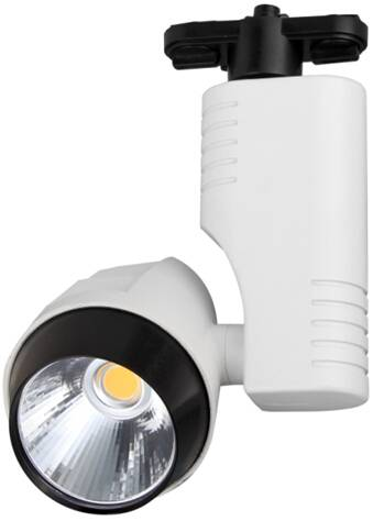 High quality Epistar COB led track light 20W rail light aluminium housing