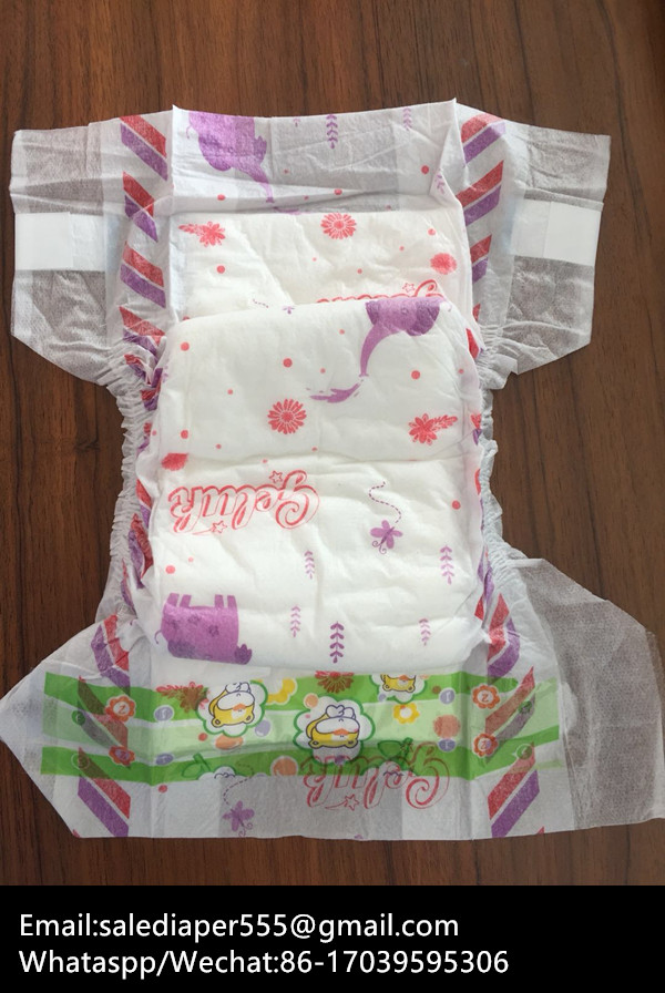Chinese OEM Diaper Manufacturer Made Diaper Disposal Baby Diaper and Baby Nappy