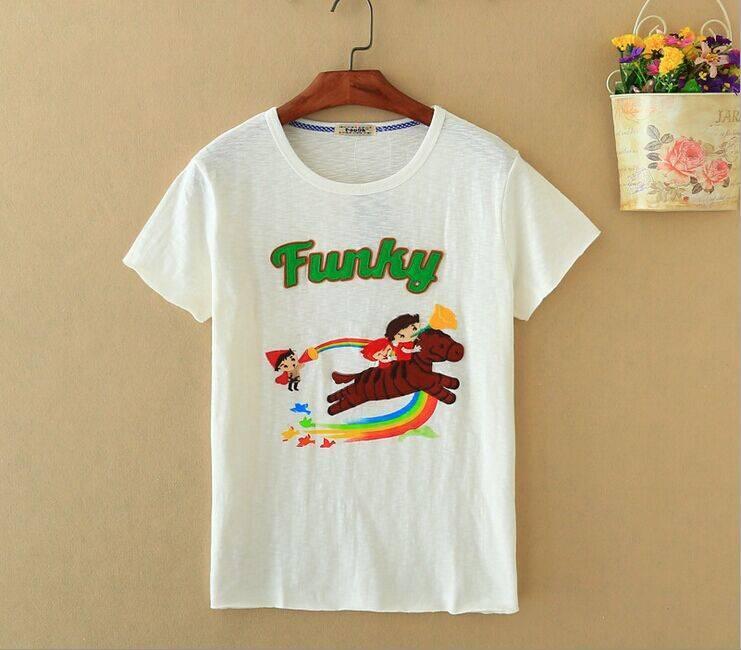 2015 New Lady Funky Short SleeveT-Shirt