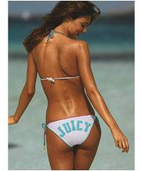 Juicy Crochet-trim triangle set