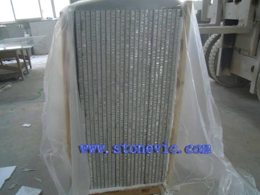 Laminated honeycomb panel