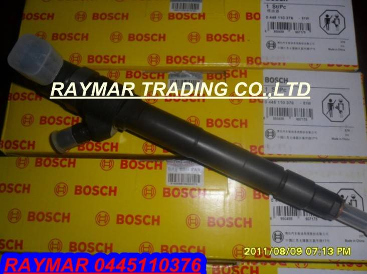 Bosch common ral injector 0445110376 for FOTON Cummins ISF2.8