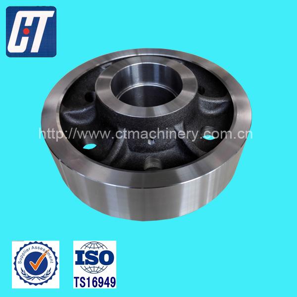 Custom Made Steel Train Wheel Forged Wheels with High Quality