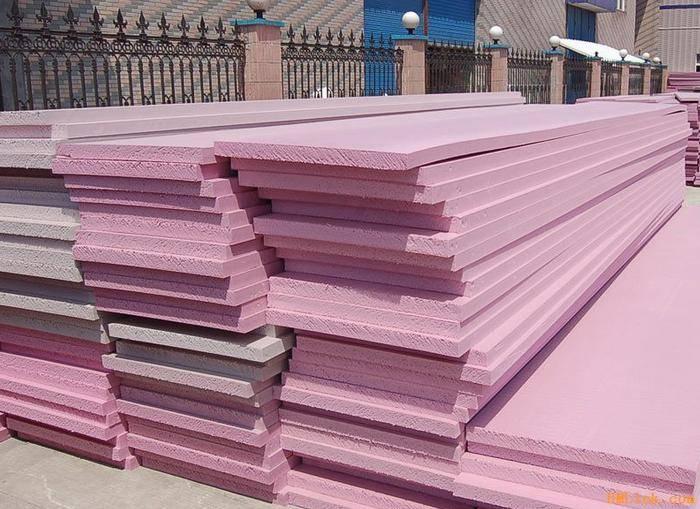 XPS foam board heat insulation