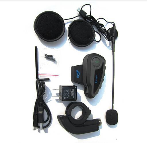 5 riders wireless intercom for motorcycle