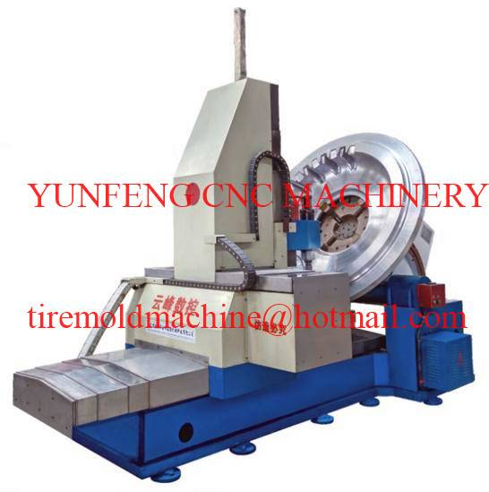 two pieces tire mold machine for sale