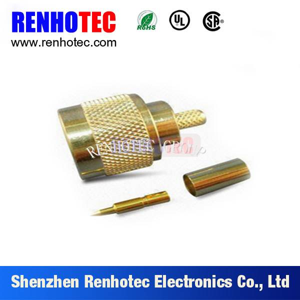 N connector for cable RG58
