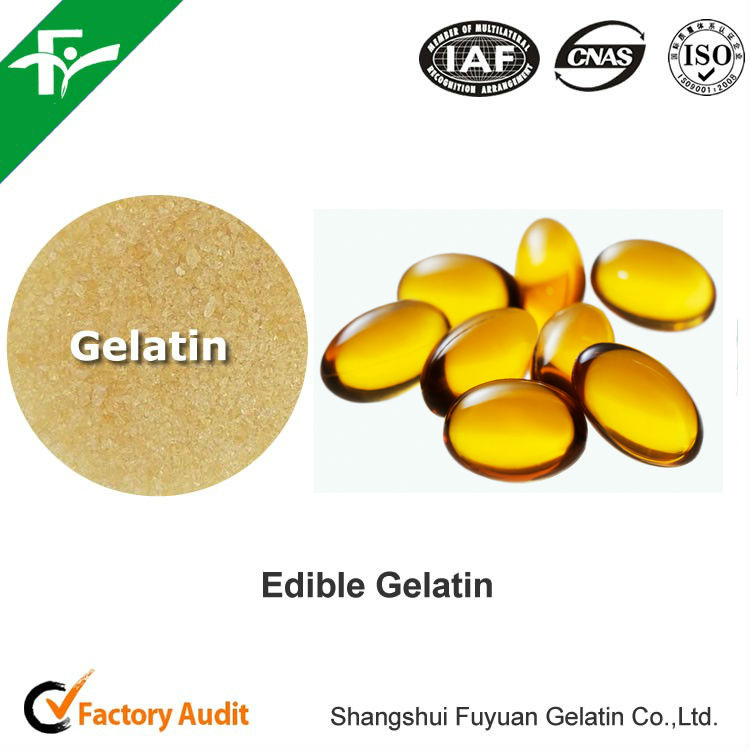 natural pharmaceutical gelatin 160 bloom for soft capsule