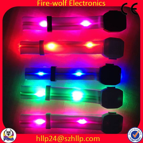 Remote Control Led Glow Bracelet Radio Control Led Light Wristband