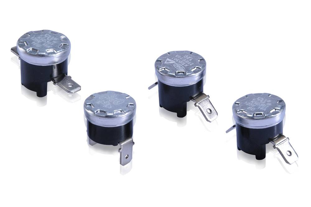 KSD301-V Bakelite Auto Bimetal Temperature Switch Thermostat (1/2)