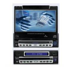 7 Automatical In Dash LCD Monitor Touch Screen Built-in DVD Player