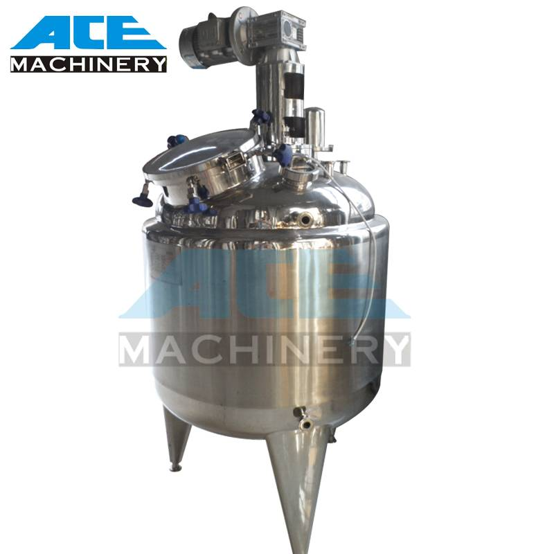 Steam Heating Juice Mixing Tank