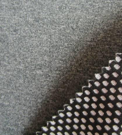 cationic jersey fabric+75D cationic jacquard knitting fabric