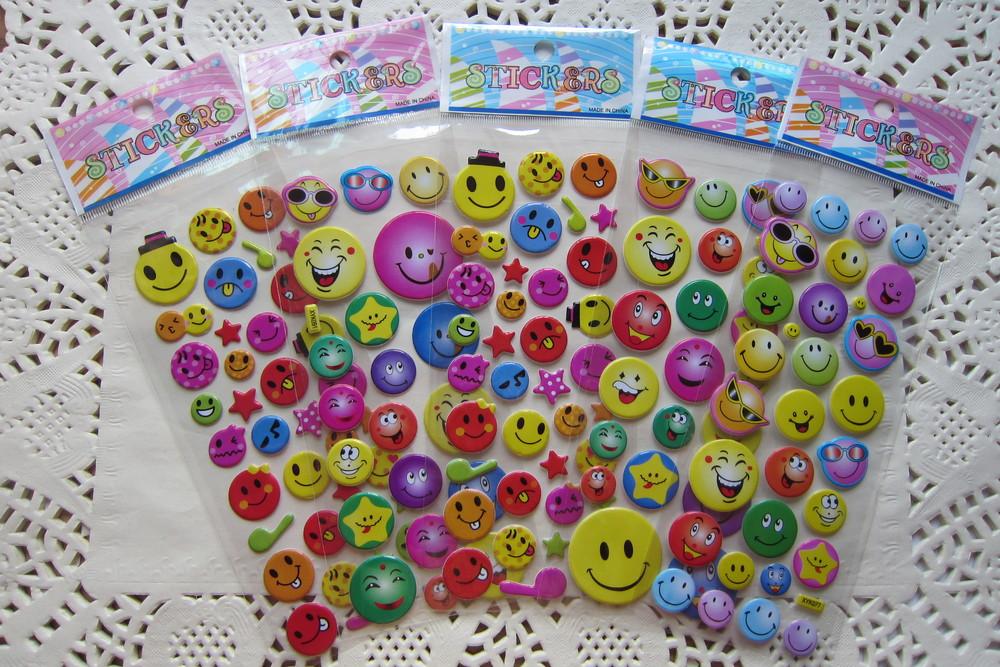 Best Selling 3D Puffy Sticker&Pop Up Sticker